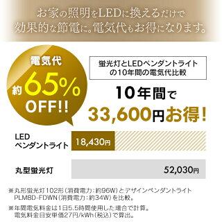 デザインペンダントライトメタルサーキットシリーズ深型8畳調光PLM8D-FDWN・Oウォールナットホワイトオーク送料無料LEDペンダントライト8畳調光メタルサーキットLEDシーリングライトLEDライトシーリングライトLED照明LED照明アイリスオーヤマ