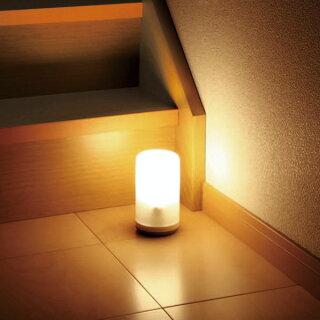 【2個セット】乾電池式LEDセンサーライトBSL-10Lアイリスオーヤマ