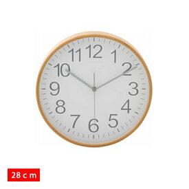 【掛時計 プライウッド】プライウッド掛時計 28cm【28cm ウォールクロック 時計 掛け時計 デザインウォールクロック】85366・85367・85368・85369 全4色【D】