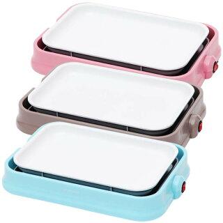 2WAYセラミックたこ焼きプレートPHP-C24W-Pピンクグレーブルー白いホットプレートプレートたこ焼きプレートセラミックおしゃれかわいいパーティ女子会たこ焼き器人気鉄板お菓子アヒージョ送料無料あす楽