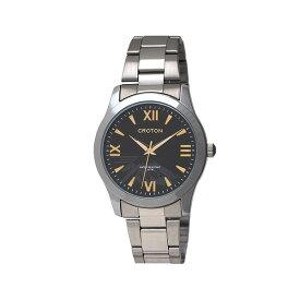 [最大P11倍★15日限定]CROTON 腕時計 紳士 RT-168M-A腕時計 リストウォッチ メンズ 生活防水 日本製 クロトン 腕時計メンズ リストウォッチメンズ メンズ腕時計 日本製腕時計 メンズリストウォッチ 和工 【D】