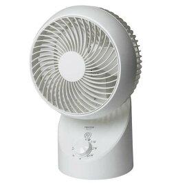 360度 3D首振り サーキュレーター ホワイト SAK-330季節家電 夏物家電 熱中症対策 冷風 シンプル 夏 360度 上下左右 空気循環 エアコン併用 換気 部屋干し 自動首振り 扇風機 テクノス TEKNOS 【D】【B】