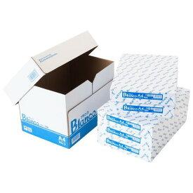 コピー用紙 A4サイズ 2500枚 (500枚×5冊) Blanco コピー紙 印刷用紙 オフィス用品 コピー用紙 a4 A4 コピー用紙 印刷用紙 送料無料 大量印刷 見やすい FAX 高白色 事務用品 上質 シンプル 書類 両面 資料 紙厚92μ 印刷 厚み 実用品 良質 在宅勤務 在宅ワーク 自宅勤務