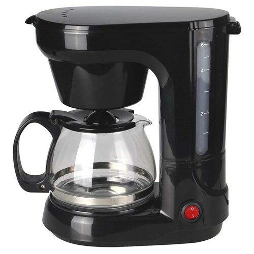 コーヒーメーカー ブラック GD-KC5コーヒーメイカー 750cc 保温 5カップ Vegetable コーヒー 温かい プレゼント 父の日 朝食 調理 調理家電 おしゃれ シンプル リビング キッチン 黒