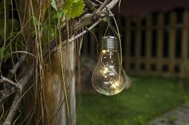 【今売れてます】【NEW】【全商品ポイントキャンペーン中】 S9558  ソーラーライト 電球型   /オブジェ/クリスマス/イルミネーション/ピック/オーナメント/置物/ガーデン雑貨/ガーデニング雑貨/母の日/父の日/ガーデンライト