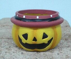 【全商品ポイントキャンペーン】S6390 パンプキンポット  4個セット 置物/オーナメント/ハロウィン/かぼちゃ/オブジェ/ガーデン雑貨/ハロウィン かぼちゃ