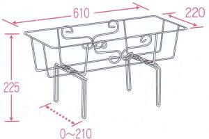 フラワーエンゼル・トップ用&クレイブプランター65型ベージュ