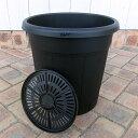果樹鉢:ブラック 245型(8号)