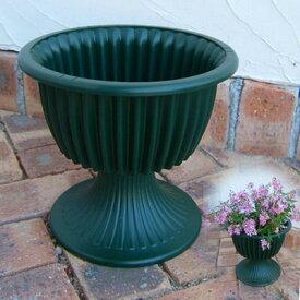 スタンド鉢:ルナ8号グリーン