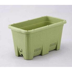 貯水機能付き野菜プランター:楽々菜園深型600支柱用フレーム付