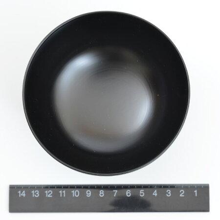 田中若葉雨もようお椀(塗り)115×75mm木製・漆
