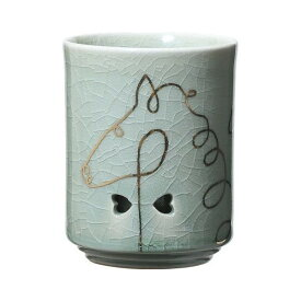 大堀相馬焼(おおぼりそうまやき) 松永窯 KACHI-UMA09 by廣瀬友子 二重湯呑み 110cc 陶器 焼き物 ギフト・プレゼントに