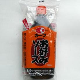 【広島:毛利醸造】カープお好みソース500g(1箱12本入)焼きそば、揚げ物、お好み焼き等何にでもご利用頂けます。