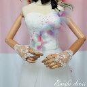 ウェディンググローブ レースグローブ ハンドメイド パール フリーサイズ 二次会 花嫁 ドレス 前撮り 後撮り フォトウ…