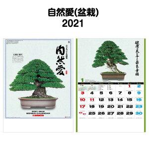 2021年 SG278 自然愛(盆栽)【 カレンダー ミニ 見やすい 大きい スケジュール 動物 ワンちゃん 犬 イヌ 写真 キャラクター カレンダー イラスト 2021 カレンダー 】