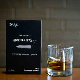 ウィスキー アイス ブレット 6本セット ウイスキー グラス アクセサリー ステンレス製 クリスマス プレゼント ギフト 用 ブラックボックス入り シップダーク