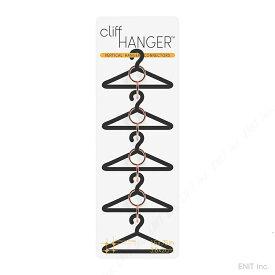ハンガー コネクター クリフハンガー おしゃれな 洋服 収納 4個入り スリーバイスリー シルバー ゴールド コッパー(銅)