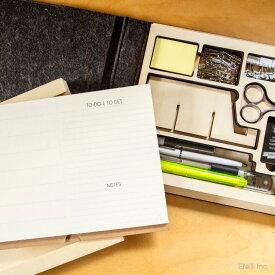 オフィス 小物 スケッチ 水彩 画材 携帯 セット おしゃれな ジョットブロック ポータブル 木製 フェルト バック スリーバイスリー