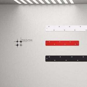 マグネットボード マグネット ストリップ 「 ロング2本+ショート1本」セット おしゃれな 壁掛け スリーバイスリー
