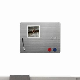 ホワイトボード マグネットボード ドライイレイズ ボード ミディアム マグネット 付き おしゃれな 壁掛け 41cm×31cm スリーバイスリー