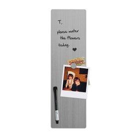 ホワイトボード マグネットボード エンリスター ラージ おしゃれな 壁掛け 背面 磁石 付き スリーバイスリー 46cmx12.5cm