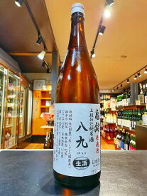 亀齢 無濾過 五段仕込 純米酒 八九(はちく)甘口 生酒 2BY 1800ml 広島 日本酒