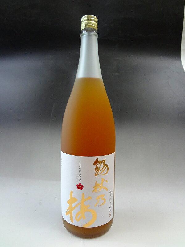 錫杖(しゃくじょう)の梅 にごり梅酒 1800ml 中国醸造 広島 宮島
