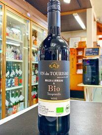 アルプス ヴァン・ドゥ・ツーリズム 酸化防止剤無添加&Bio テンプラニーリョ 赤 ミディアムボディ 750ml 赤ワイン 長野県
