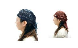 職人道楽バンダナキャップ 4柄セット  4柄組 和帽子
