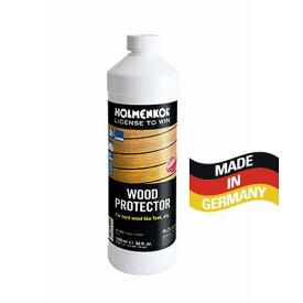 Holmenkol ホルメンコール ウッドプロテクター 1000ml 【25160】 チーク材やハードウッド製のヨットのウッドデッキや住宅エクステリアに使用できます。高品質で長時間持続するハイテクナノコーティング剤です。