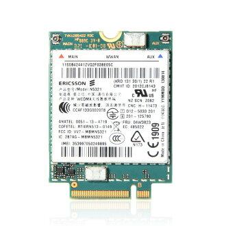 Lenovo Thinkpad純正品3G WWAN FRU:04W3823 N5321 L440, L540, L450,T440, T440s, T440p,T450. T450s,T540p, W540,X240, X240s,X250,X1 Carbon(20A7,20A8,20BS,20BT)