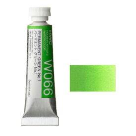透明水彩絵具2号(5ml)W066 緑色 パーマネントグリーンNo.1※モデルチェンジによりパッケージが異なる場合がございます。