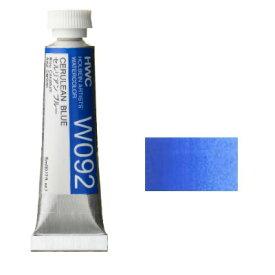 透明水彩絵具2号(5ml)W092 青色 セルリアンブルー※モデルチェンジによりパッケージが異なる場合がございます。