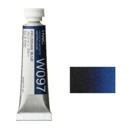 透明水彩絵具2号(5ml)W097 青色 プルシャンブルー※モデルチェンジによりパッケージが異なる場合がございます。