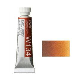 透明水彩絵具2号(5ml)W134 茶色 バーントシェンナ※モデルチェンジによりパッケージが異なる場合がございます。