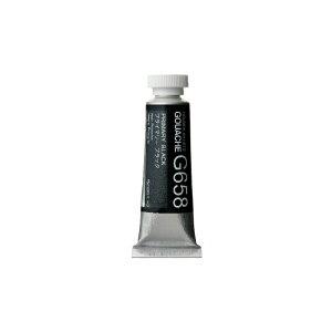 ホルベイン 不透明水彩絵具 ガッシュ プライマリー ブラック 15ml(5号)G658 絵具 絵の具 不透明水彩絵の具