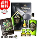 コカレロ+ボムグラス2個付き ギフトボックスセット 700ml リキュール COCALERO 29度 正規品 化粧箱入