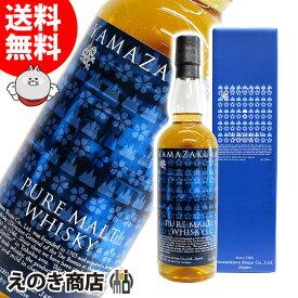 【送料無料】ピュアモルト 山桜 5年 700ml ジャパニーズウイスキー 48度 箱付 笹の川酒造