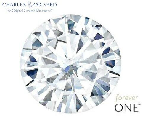 モアッサナイト Forever ONE 5.5mmラウンドブリリアント ルース(ダイヤモンド0.6ct カラー:D-F/ クラリティ:VS1-VS2 相当)ダイヤモンドに次ぐ硬度とダイヤモンドを超える輝きを放つ人工宝石であり、ダイヤモンドの代替宝石としておすすめ致します。