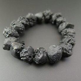 タイ産テクタイト 原石 ブレスレット