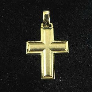 ゴールド 22.5mm クロス 十字架 ペンダント 14金 14K 3.1g
