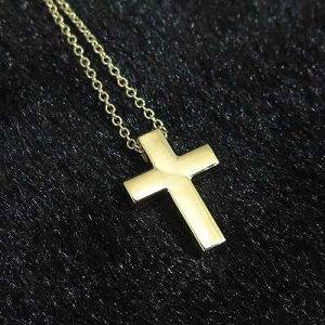 ゴールド 15X10 クロス 十字架 ペンダント 14金 14K 1.9g