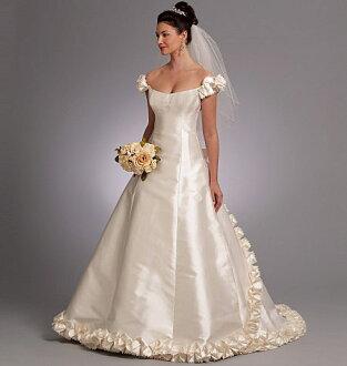 English Edition VOGUE PATTERNS Vogue And Patterns BELLVILLE SASSOON Belleville Sassoon Wedding Dress Pattern