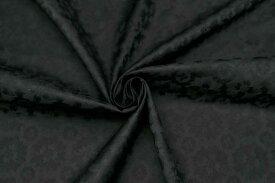 イタリア製【VERS】コットン・シルク・ツイルジャカード・フラワーワンピース着分1.8m単位 生地・布