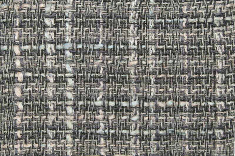 イギリス製【LINTON/リントン】シャネルツィードウール・リネン・ブレンドファンシーツィード50cm単位 生地・布