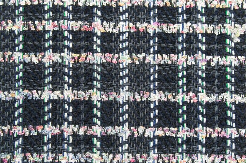 イギリス製【LINTON/リントン】シャネルツィードコットン・ヴィスコースファンシーツィード50cm単位 生地・布