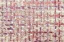 イギリス製【LINTON/リントン】シャネルツィードヴィスコース・コットン・ポリエステルファンシーツィード50cm単位 生…