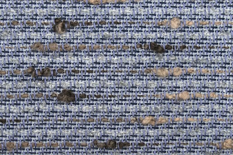 イギリス製【LINTON/リントン】シャネルツィードコットン・モヘア・ブレンドファンシーツィード10cm単位 生地・布