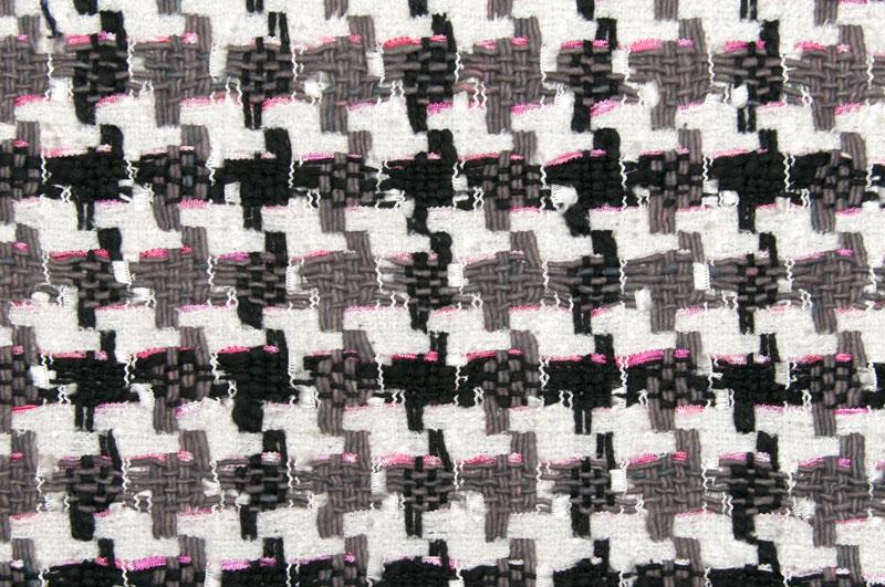 イギリス製【LINTON/リントン】シャネルツィードヴィスコース・コットンファンシーツィード10cm単位 生地・布