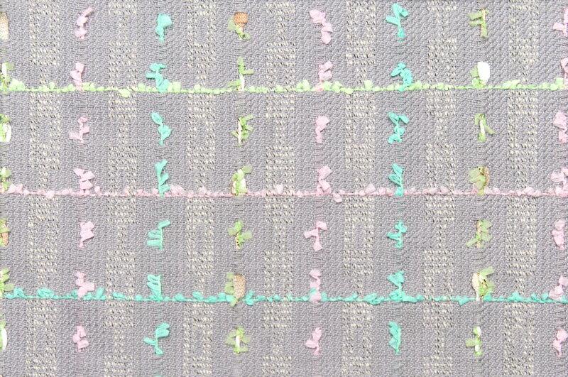 イギリス製【LINTON/リントン】シャネルツィードコットン・シルク・ブレンドファンシーツィード10cm単位 生地・布
